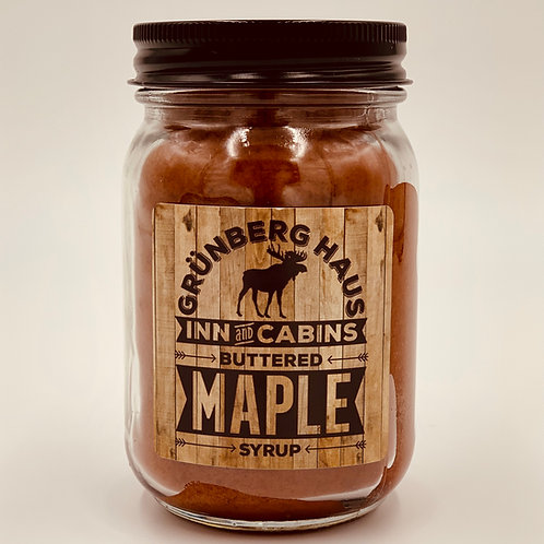 Grunberg Haus Buttered Maple Syrup Candle - 12 Ounce