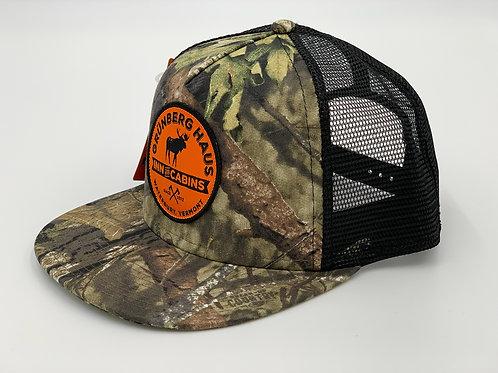 Moose Logo Mesh Back Trucker Hat