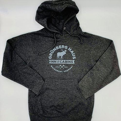 Grunberg Haus Moose Logo Pullover Hoodie