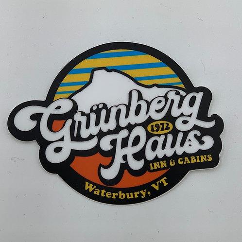 Grunberg Haus Stickers