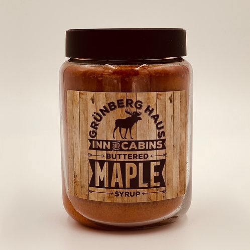 Grunberg Haus Buttered Maple Syrup Candle - 26 Ounce