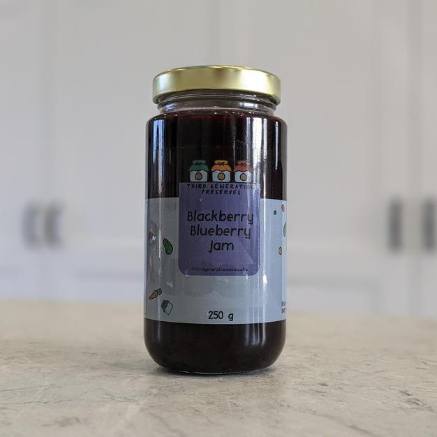 Blackberry Blueberry Jam