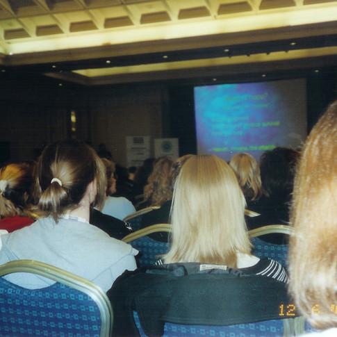 Cazzolli gave oral presentation- Dublin 2005