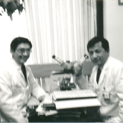 Dr Hiroshi  Mitsumoto & Dr Samuel Chou at Cleveland Clinic