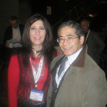 Tiffany Slovan & Dr. Hiroshi Mitsumoto  Toronto 2007