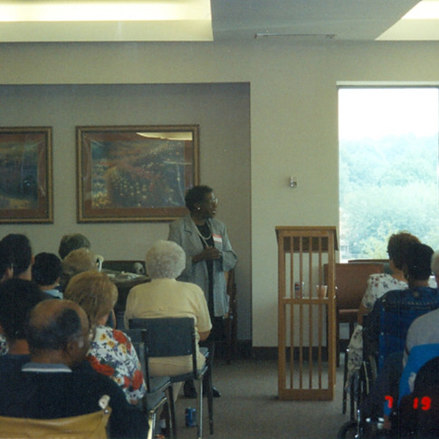 18.  Joan Warren, MSW spoke at ALS Support Group.jpg