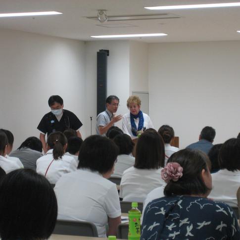 Lecture at Kanagawa Hospital