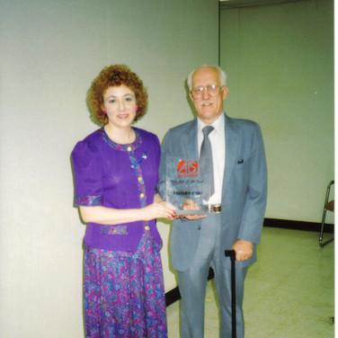 Received National ALS Association Patient Service Award