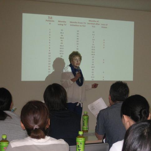 Cazzolli lecture at Kanagawa Hospital 2017
