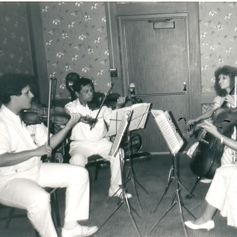 Dr Samuel  Chou & Cleveland  Clinic colleagues performed at  Chapter Charter meeting on 8-2-88 in Fairlawn OH