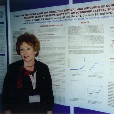Cazzolli-Poster presentation- ALS-MND Symposium Dublin 2005
