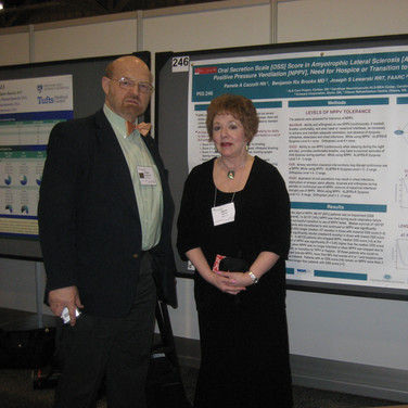 Dr. Brooks & Cazzolli gave poster presentation at AAN meeting 2010