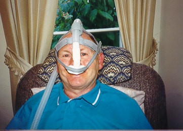 First ALS patient in Ohio who used nasal ventilation in 1990