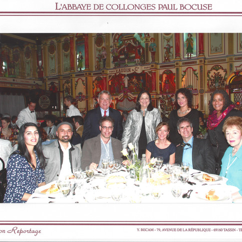 Banquet at JIVD conference - Lyon 2015