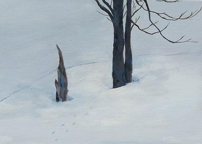 송다은_나서볼까_oil on canvas, 33.4x24.2cm, 201