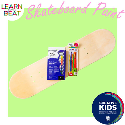 Skateboard Paint Kit