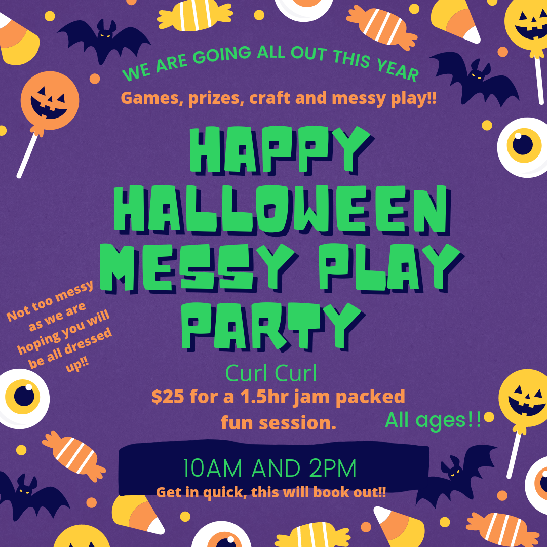 Happy Halloween Party 31st Oct 10am