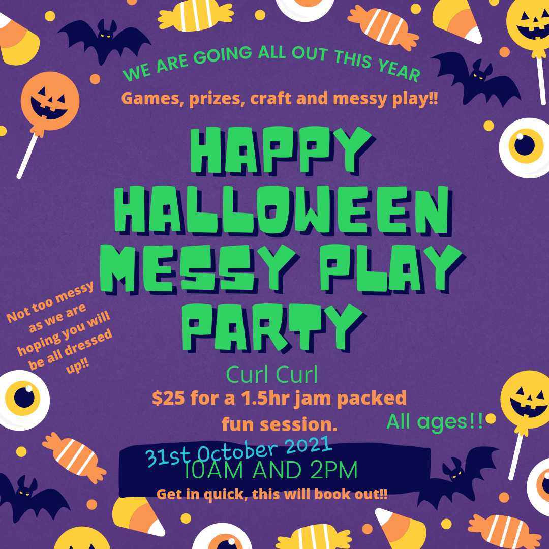 Happy Halloween Party 31st Oct 2pm