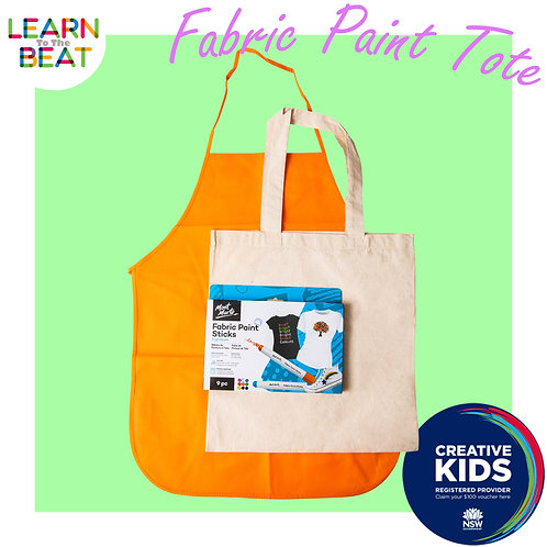 Fabric Paint Tote Kit.