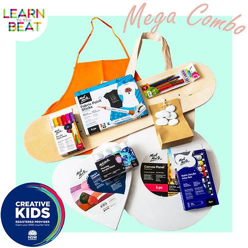 The MEGA COMBO Kit.
