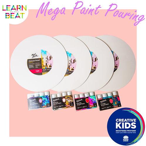 Mega Paint Pouring Kit.