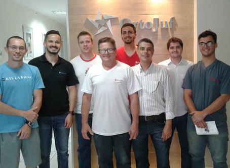 OrtoJuf e Össur realizam apresentação e treinamento sobre o aparelho Walkaide