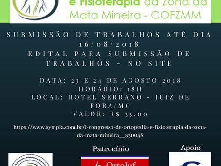 I Congresso de Ortopedia e Fisioterapia da Zona da Mata