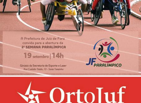 Secretaria de Esportes e Lazer promove Semana Paralímpica