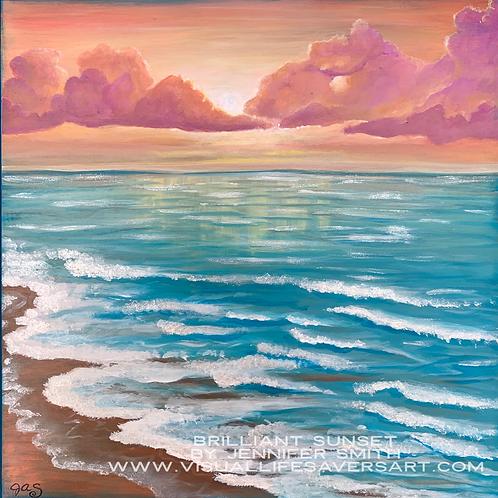 Brilliant Sunset - Print