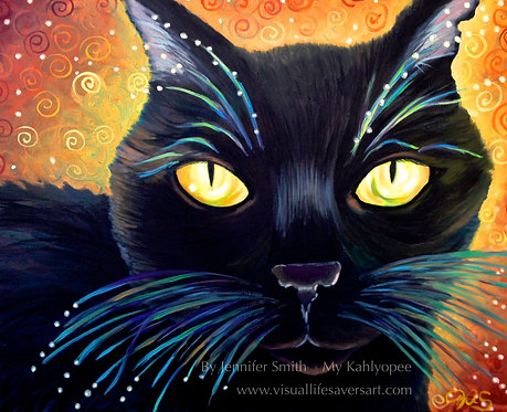 The Black Cat of Mystery - Print