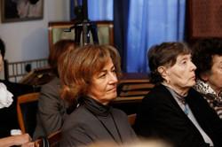 Проректор РАМ Д.К. Кирнарская и профессор РАМ Е.Е. Дурандина среди слушателей