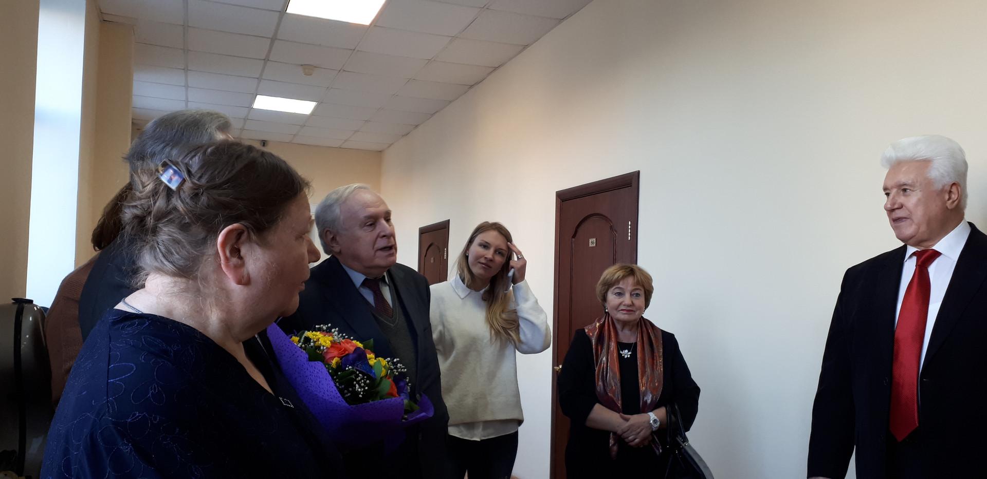 П.Б.Ландо, профессор Московской консерватории