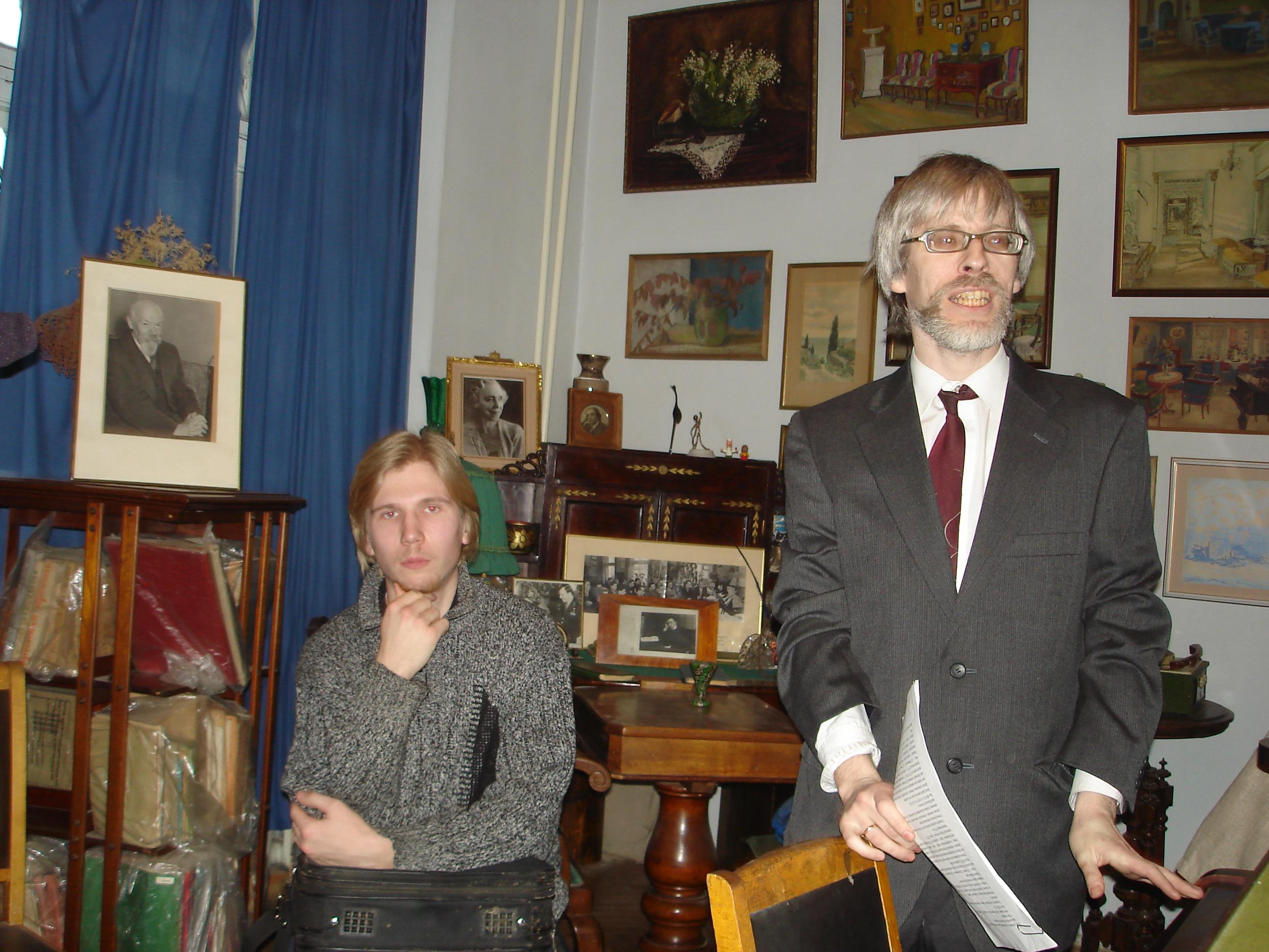 В. В. Тропп и В. Попков