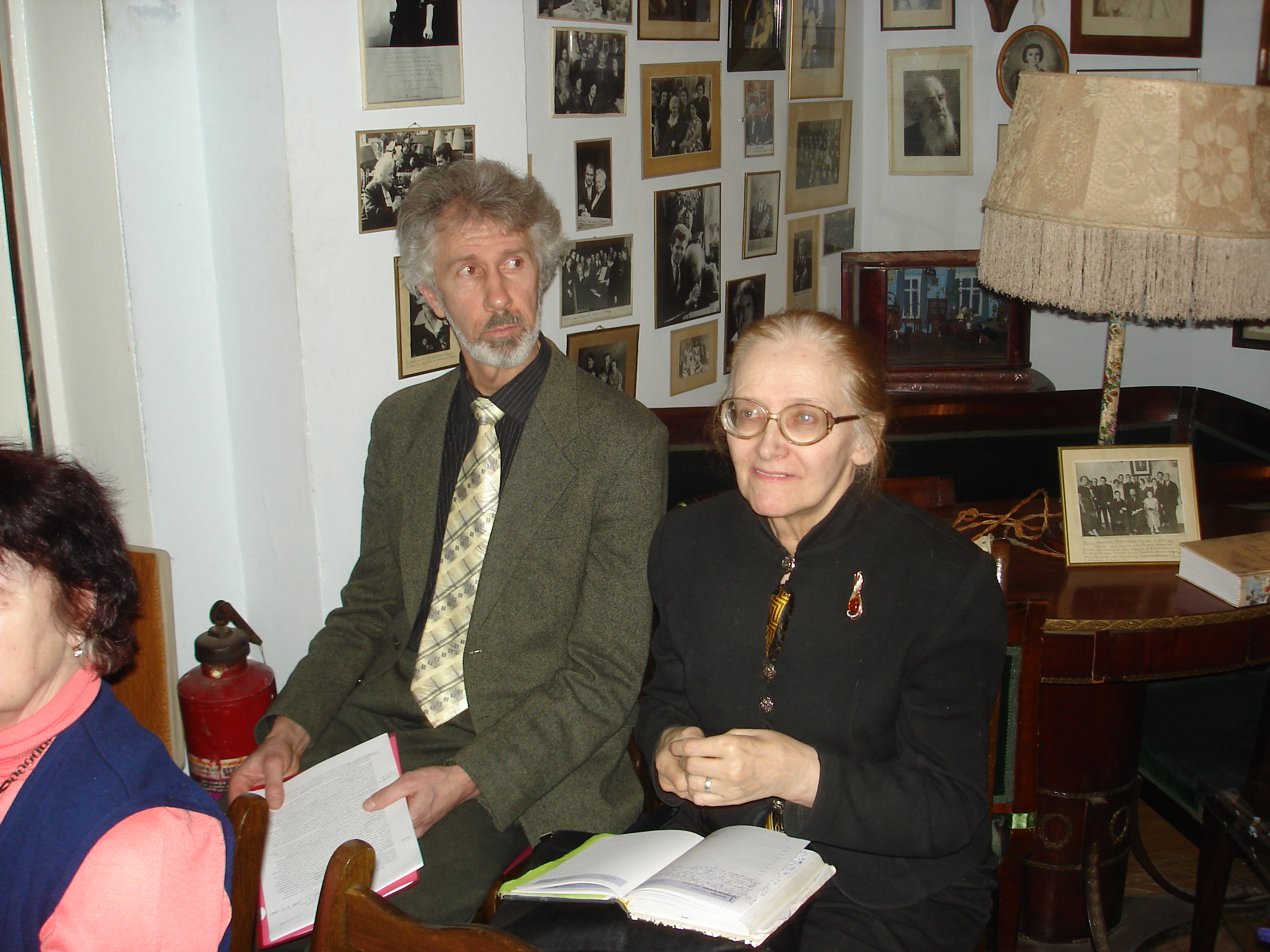 А. Л. Ларин и Т. Е. Лейе