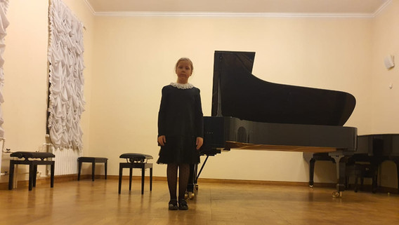 """Ел.Ф.Гнесина - """"Грустная мелодия"""", исполняет Алиса Гогунская"""