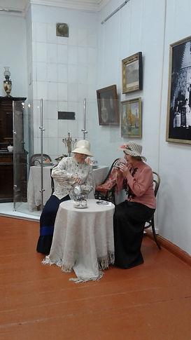 Купеческое чаепитие в Тотемском краеведч