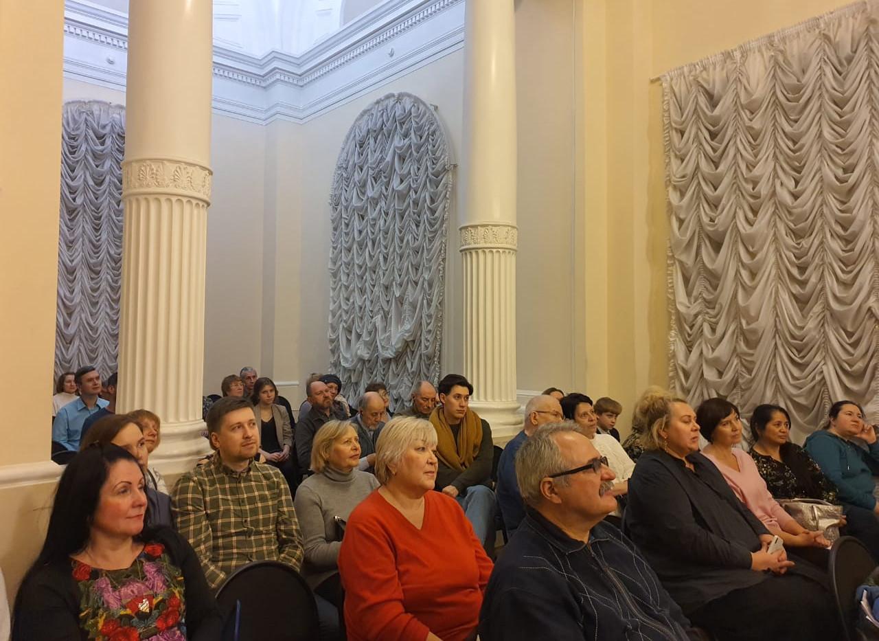 Публика в зале