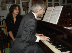 В. В. Тропп, партия фортепиано