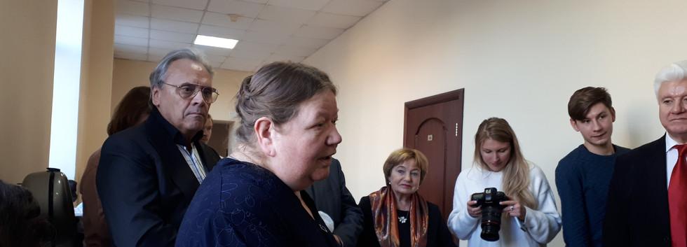 М.С.Трубачёва, дочь С.З.Трубачёва