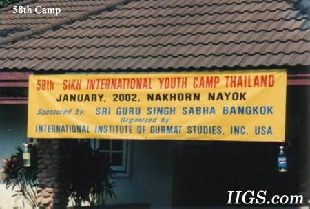 58th Camp in Thailand
