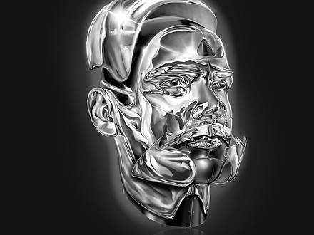 SELFPORTRAIT WITH CHROME
