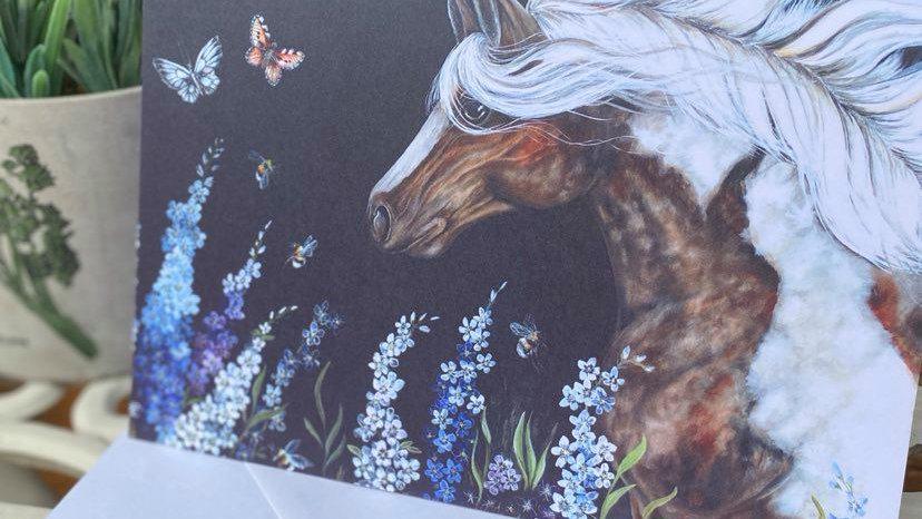 Meadow Mist Greetings Card
