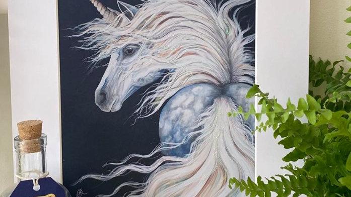 Unicorn Glicée Print