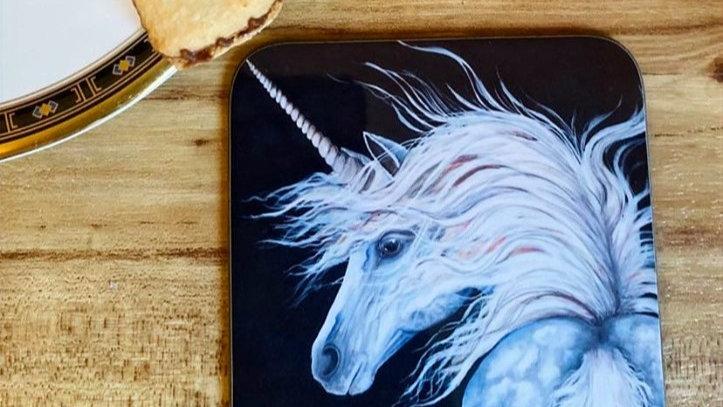 Unicorn Individual Coaster