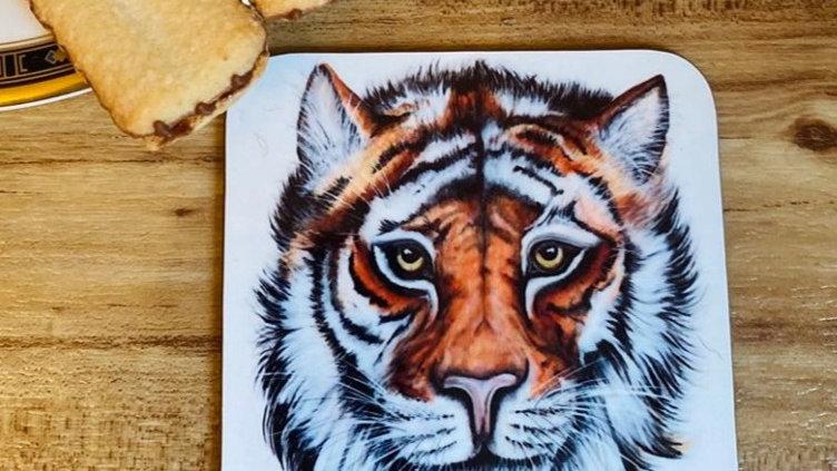Tiger Individual Coaster