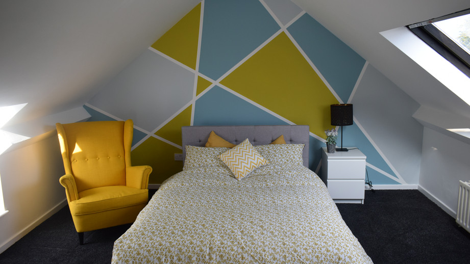 Beautiful loft en-suite bedroom