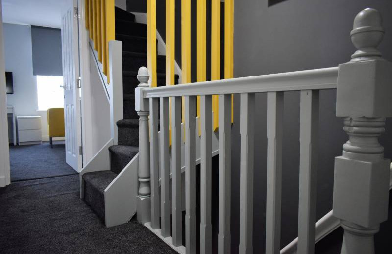 Modern Hallway, modern home share