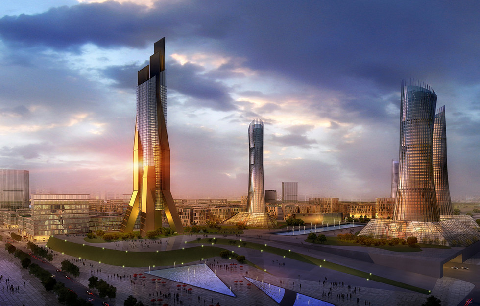 Central Business District, Yinchuan