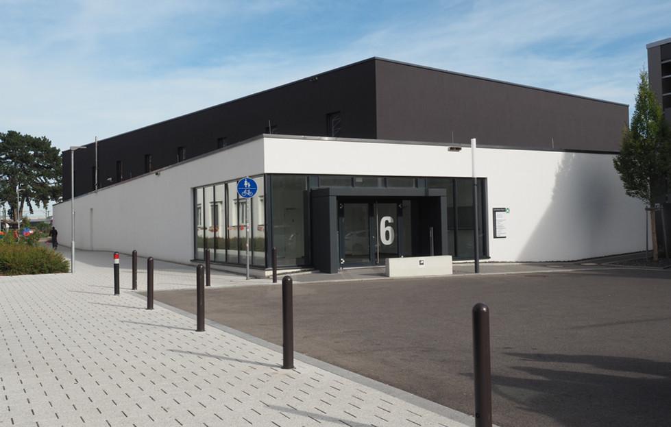 Sporthalle Schmidener Weg, Fellbach