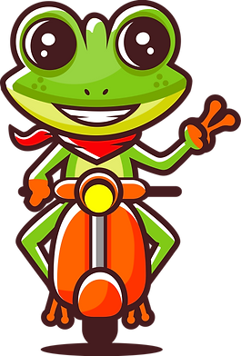 Frog on Moped.png
